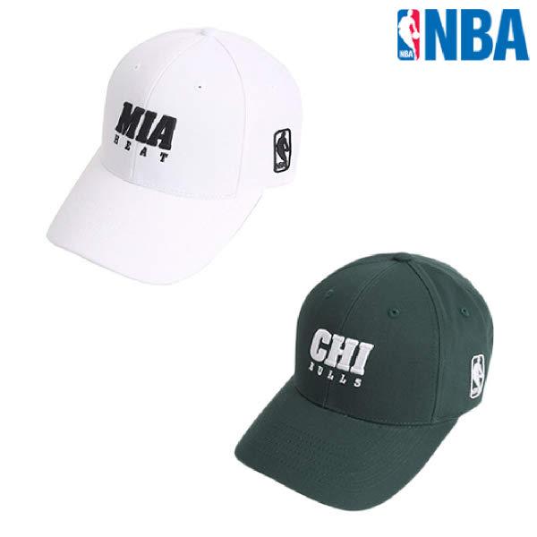 [현대백화점][NBA]엔비에이 N205AP415P 공용 실루엣 자수장식 캡 모자