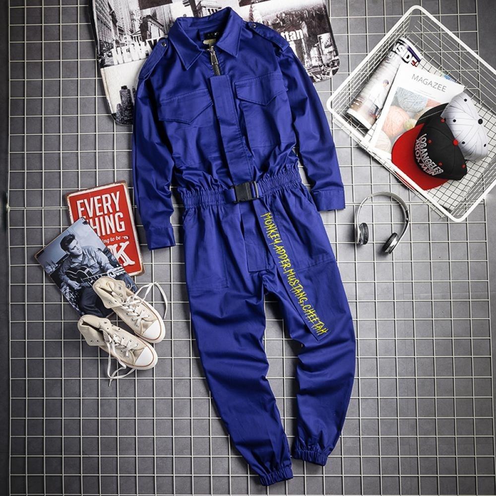 kirahosi 홍콩스타일 남자 점프수트 빅사이즈 점프수트 해외배송 84호 + 덧신 증정 AGoojm1b