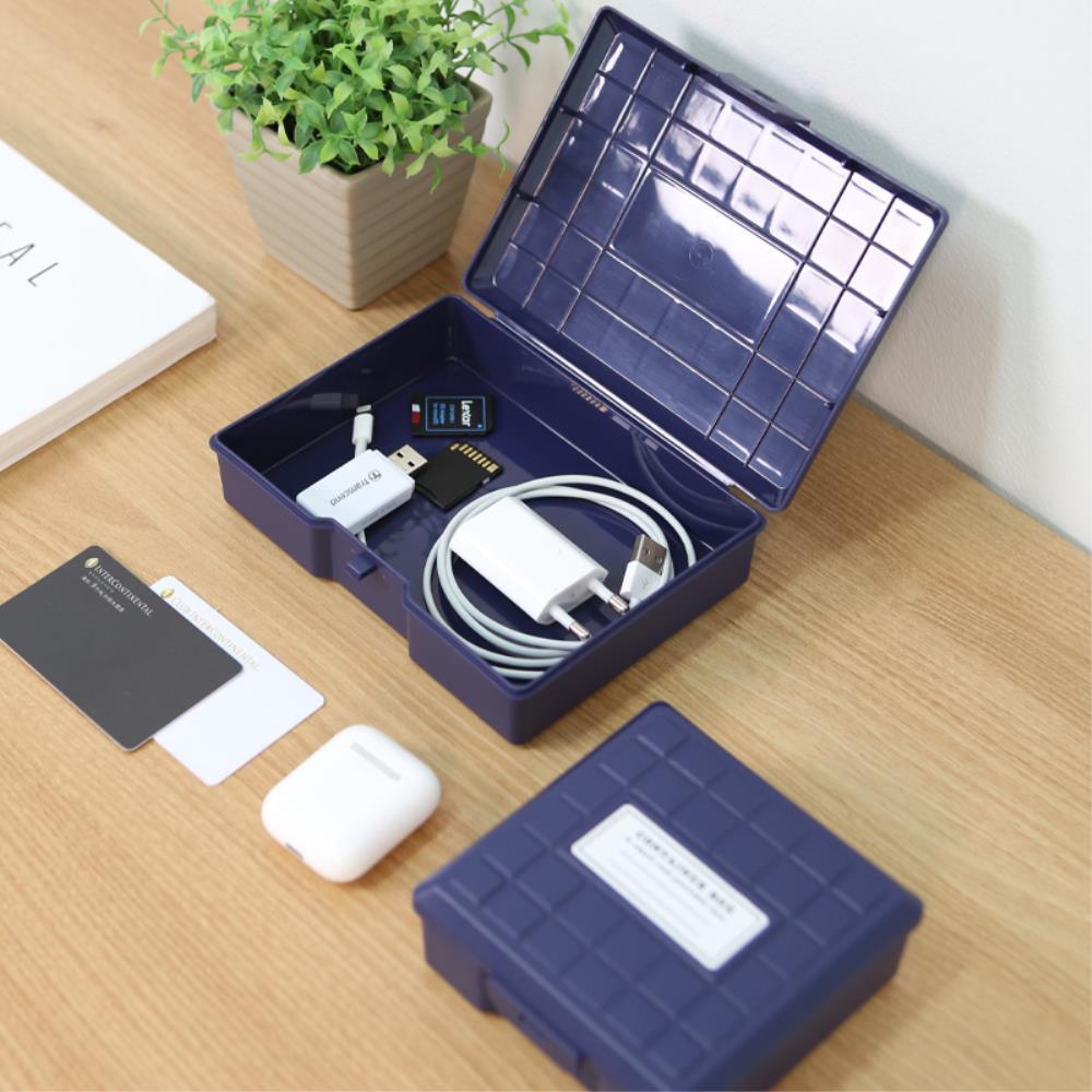 책상 서랍장 잡동사니 종류별 정리함 사무실책상정리, 큐브