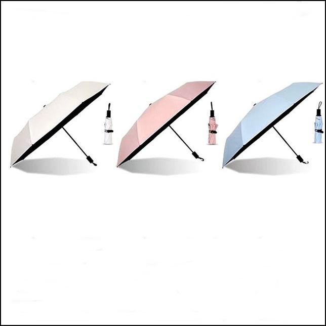 은빛라인 UV자외선차단 암막 3단 양산 우산