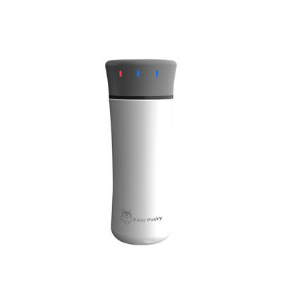 유선포트 여행 USB충전 플러그인 항온 전열 물주전자 온도조절 온도컨트롤 찻주전자 휴대용 전기가열 보온컵, T10-화이트 가능 USB직접충전 전기 저장 없음 320ML가열 55