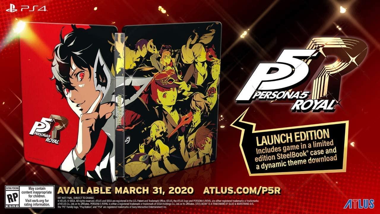 1.예상수령일 2-6일 이내 Atlus (World) Persona 5 Royal : Steelbook Launch Edition (수입 판 : 북미) -, One Color_One Size, 상세 설명 참조0, 상세 설명 참조0