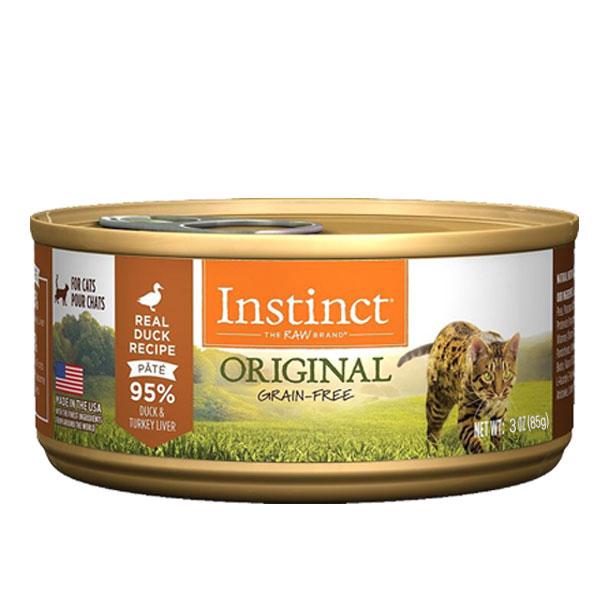 생식본능 오리지날 오리 캣 캔 85g 고양이간식, 단품