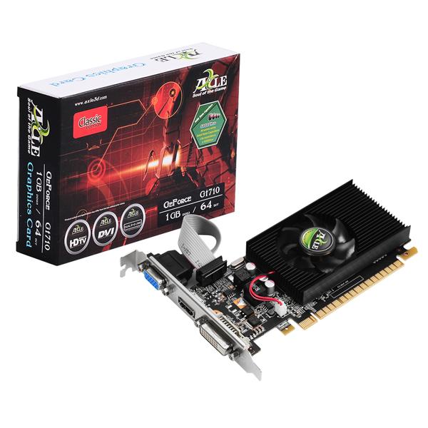 AXLE 지포스 GT710 D3 1GB LP 그래픽카드, 선택하세요