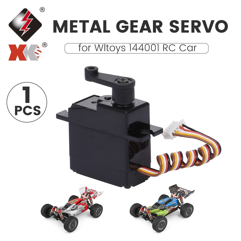 Wltoys XKS 144001 4 채널 RC 오프로드 레이싱 카 1|14, RC 서보