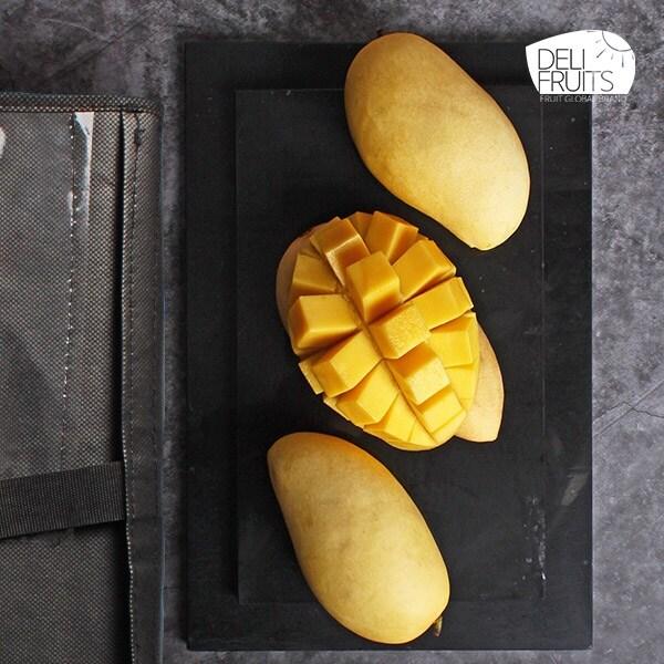 [신세계TV쇼핑][델리후르츠] 프리미엄 태국 망고 3.2kg 10과 선물세트, 단일상품, 단일상품
