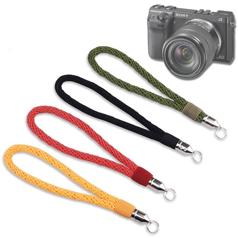 핸드스트랩 미러리스카메라 순면 손목끈 A5100A6300A7II XT10XA3X100F카메라 밴드팔찌 포함, T05-두줄()