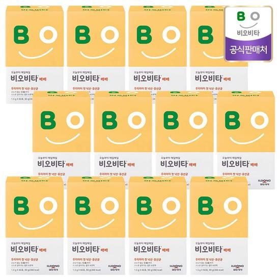 비오비타 배배 유아 낙산균 유산균 분말 스틱, 1.5g, 720개