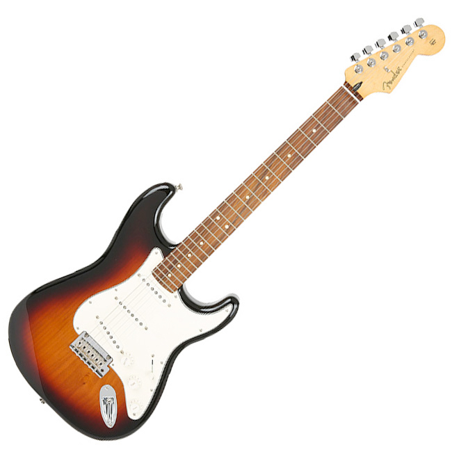 Fender Mexico Player Stratocaster - 3 Tone Sunburst / Pau Ferro (014-4503-500), *, *