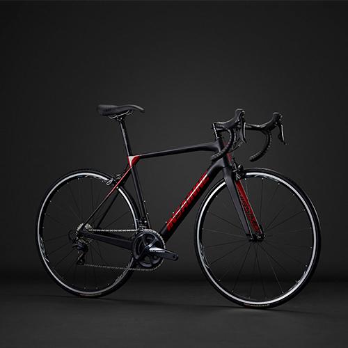 INSAINNE 700C FINISSIMO ULTEGRA 로드 자전거, 470mm, 블랙/레드