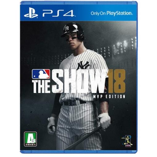 MLB 더 쇼 18 PS4 영문판 스포츠