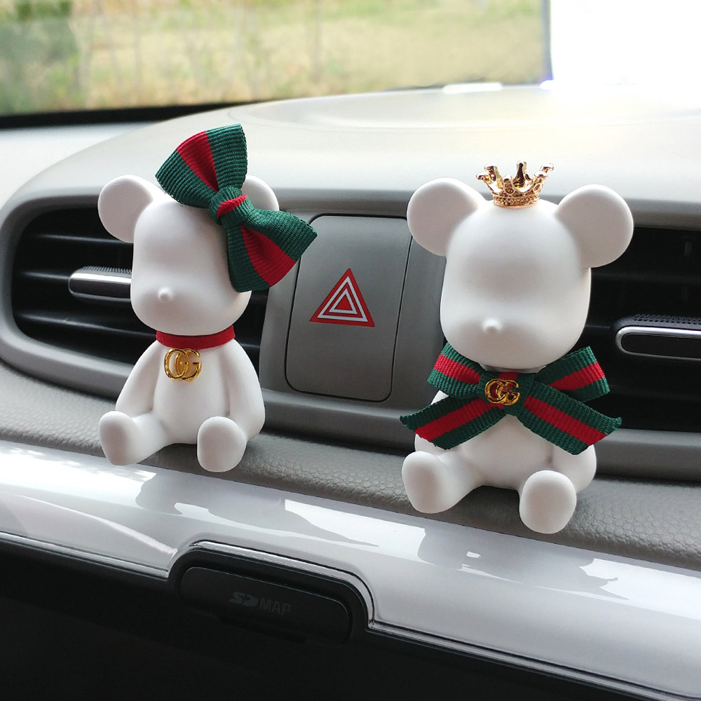 앤셜리 럭셔리 곰돌이 로얄베어(리필5ml+상자포함) 차량용 석고방향제, D형-샤넬NO.5