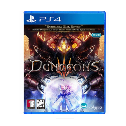 던전스 3 PS4 한글판 판타지 시뮬레이션 경영 전략
