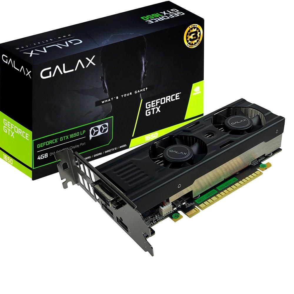 갤럭시 GALAX 지포스 GTX1650 D6 4GB LP ( OC )