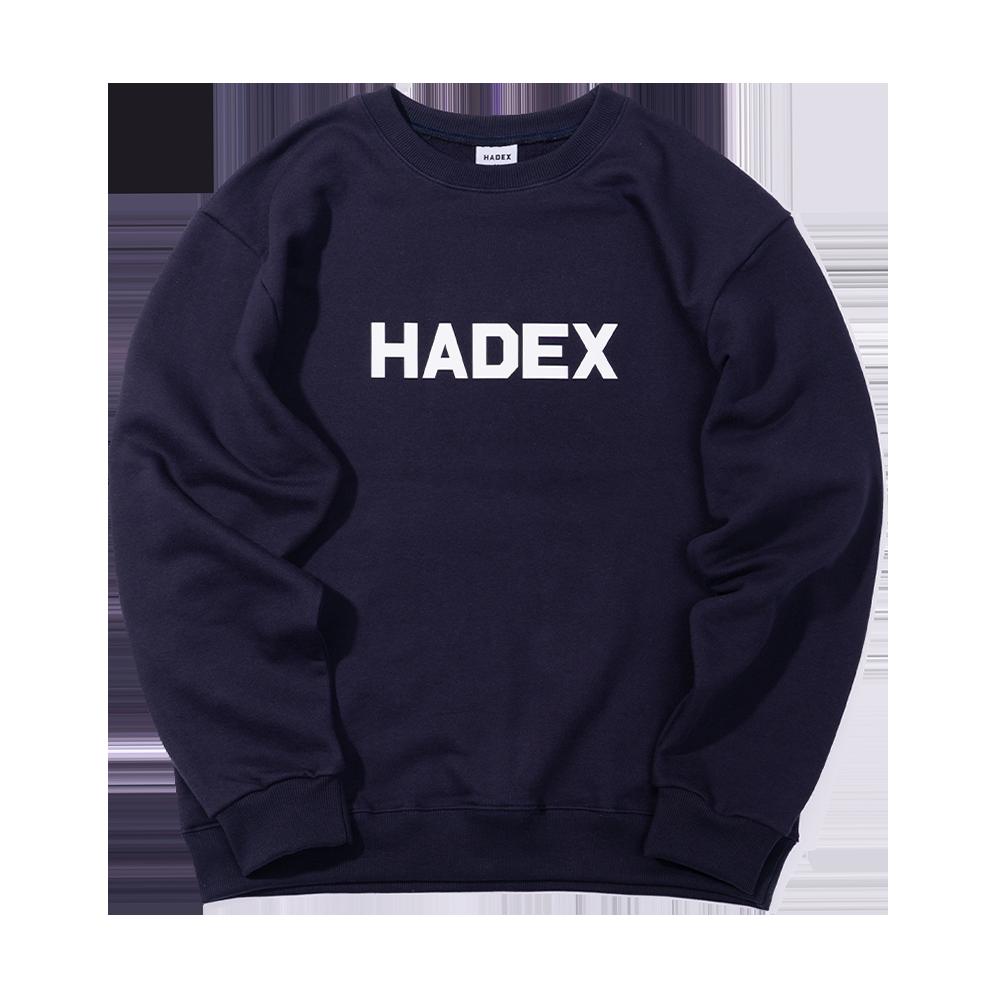 HADEX 어센틱 로고 맨투맨 3 color