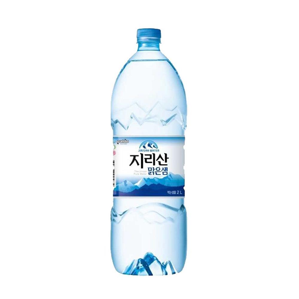 DM 지리산 맑은샘 생수 2L X 6개 천연암반수 먹는샘물 식수
