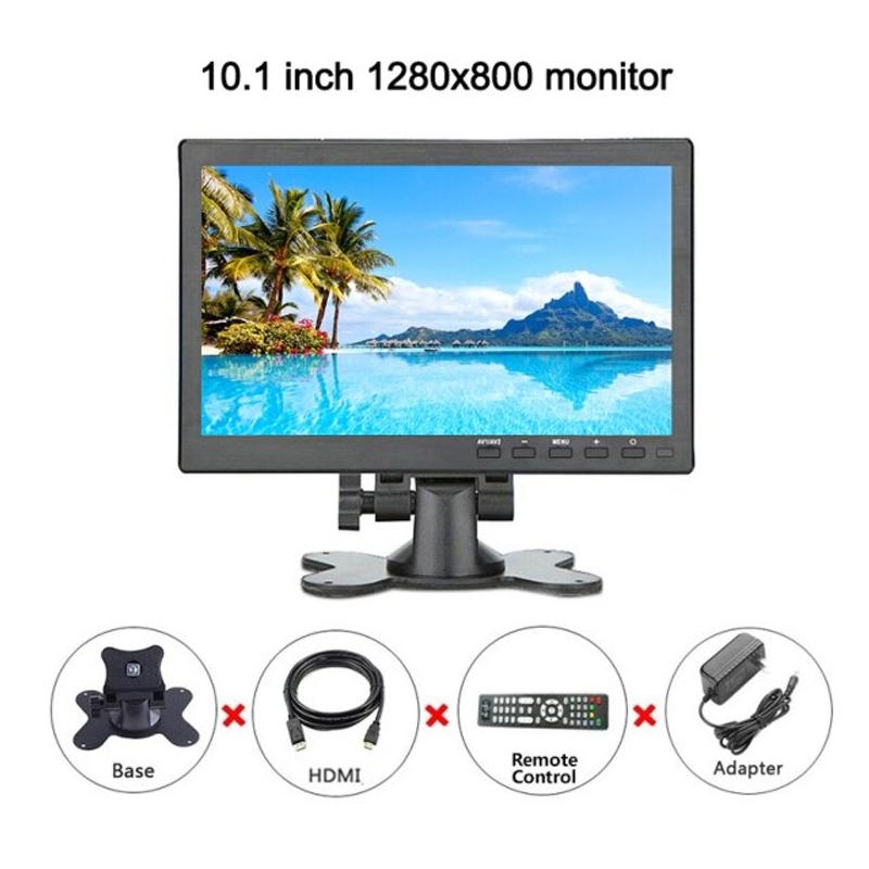 라미무역 해외배송 10.1 인치 휴대용 컴퓨터 풀 HD lcd 터치 스크린 모니터 PC IPS 1920 1200 디스플레이 BNC AV VGA HDMI CCTV 미니 모니터, 협력사, 1280x800 (POP 5691690339)