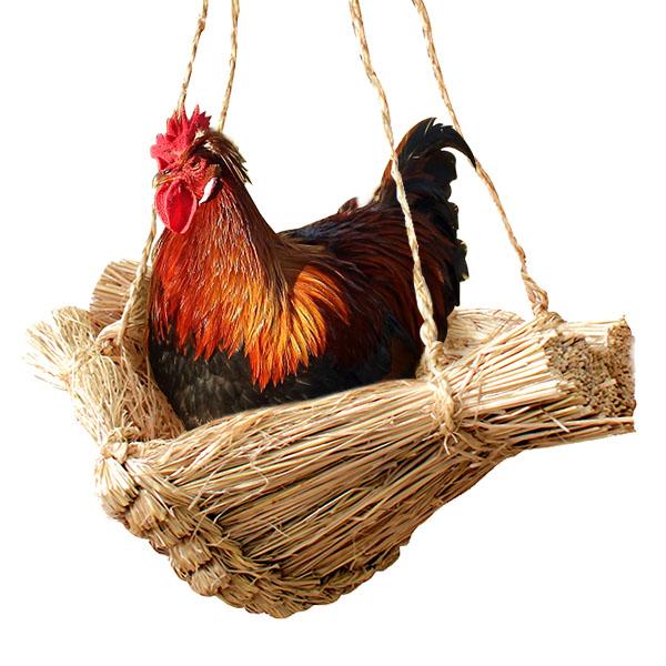더담고 볏짚 닭둥지 닭알집/지푸라기 달걀 계란산란장 새둥지, 원컬러