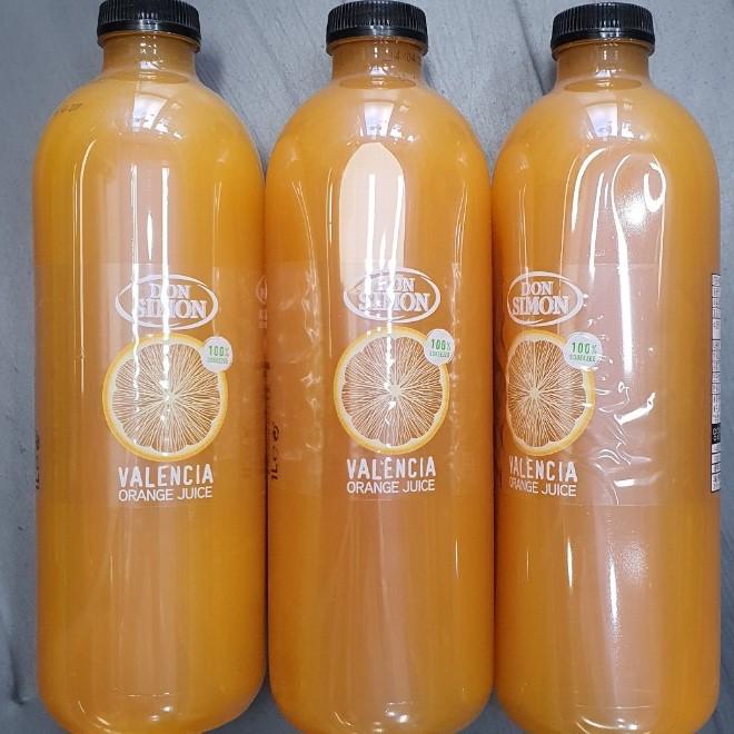 디에이엠 돈시몬 오렌지주스 100%착즙 발렌시아 1L 3개묶음