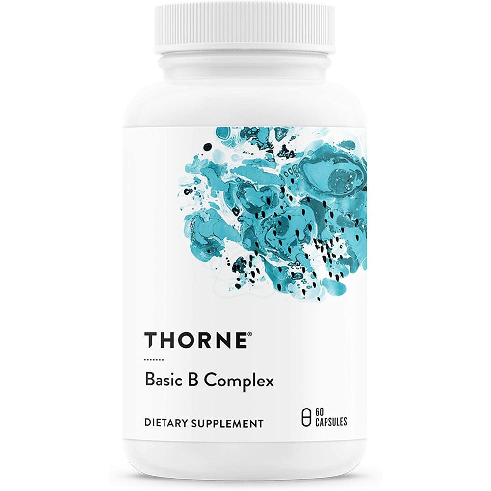 쏜리서치 베이직 B 컴플렉스 60정 Thorne Research, 상세내용 참조, 1개
