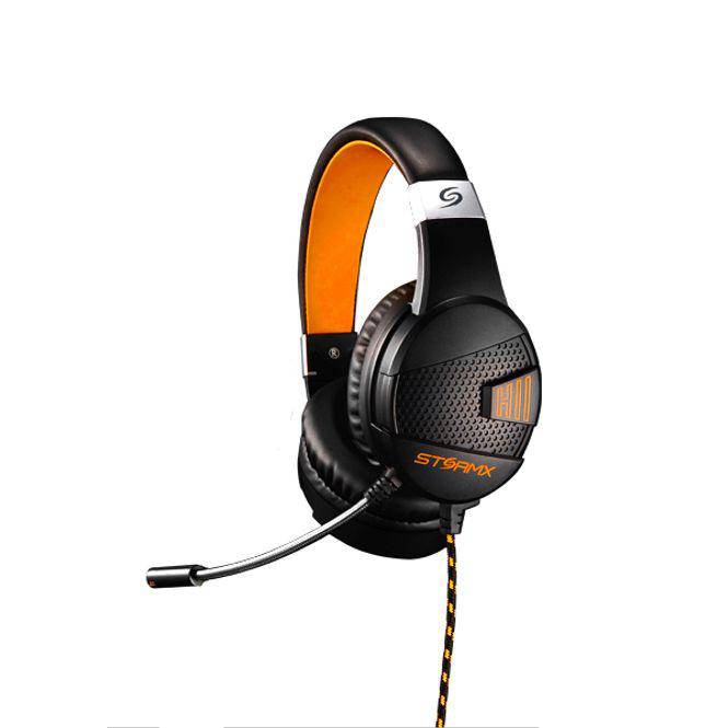 제닉스 스톰엑스 H2 (STORMX H2) 헤드셋 (오렌지)