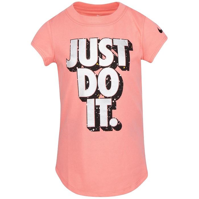 [나이키키즈]Little Girls Cotton Just Do It T-Shirt트레이닝복