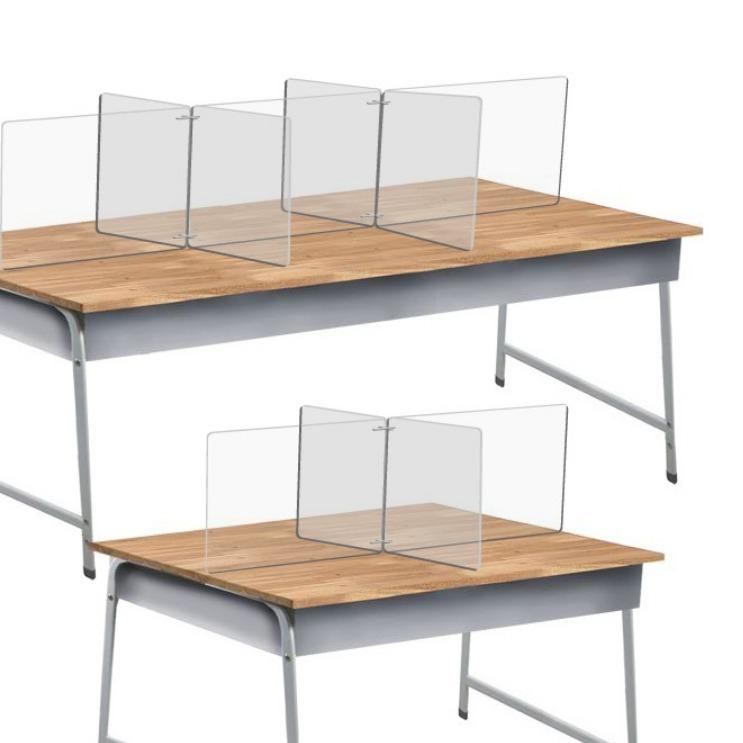 매니저 비대면 식당 책상 투명 위생 칸막이 부품 세트 간편 1분조립 가림막 아크릴 판, 아크릴판1장 가1