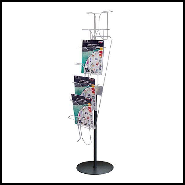 OT 스탠드 꽂이 4단 광고 거치대 홍보물 광고판 포스트 인쇄물 안내판 전시회 놀이방