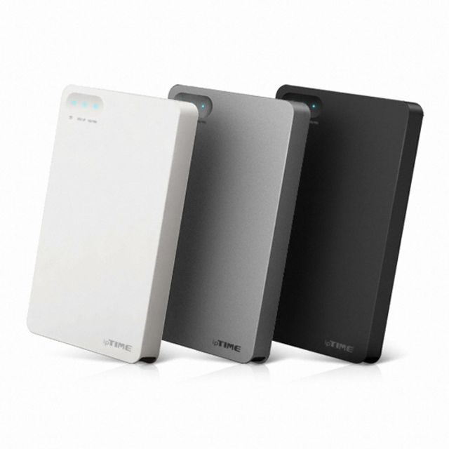 ksw40410 ipTIME HDD3125 2TB WD 정품 HDD USB3.0 sg884 외장하드, 화이트
