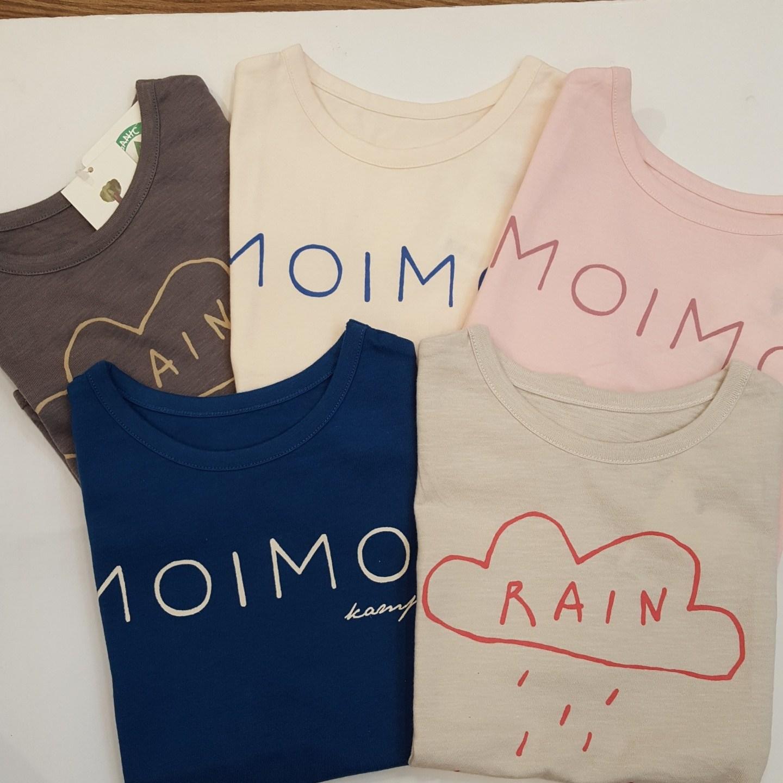 모이모이깜피 오가닉 면 모모반팔 티셔츠 MO9SSEW026101