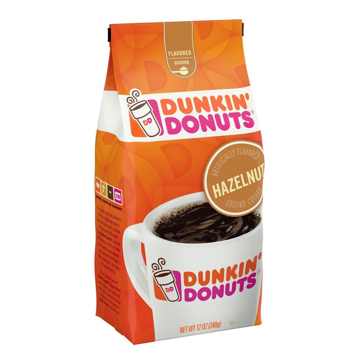 던킨도넛츠 헤이즐넛 라이트 로스트 그라운드 커피 340g