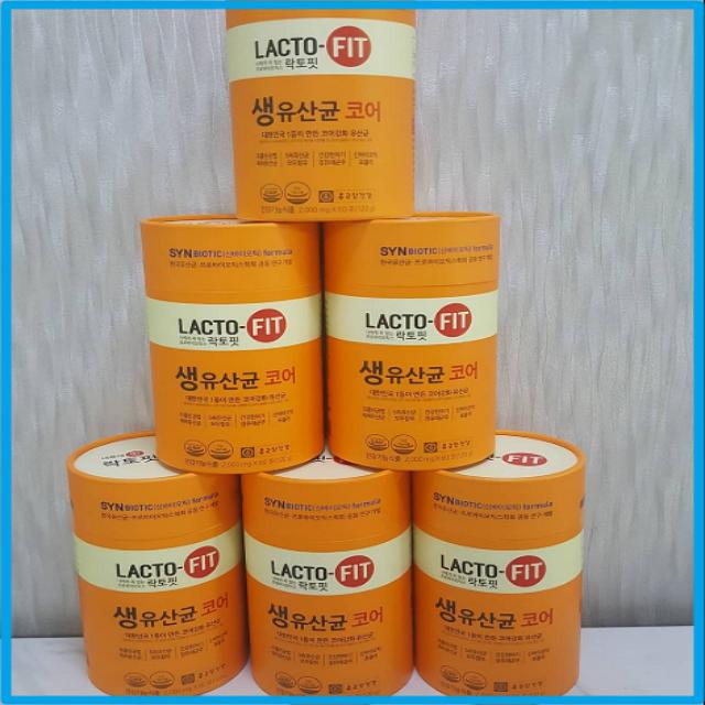 자체브랜드 종근당건강 락토핏 생유산균 코어 2g x 60포 6통