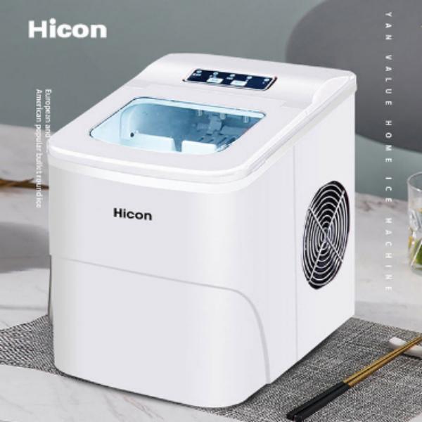 Hicon 가정용 미니 제빙기 6분 급속제빙 일최대 15kg, 단일상품