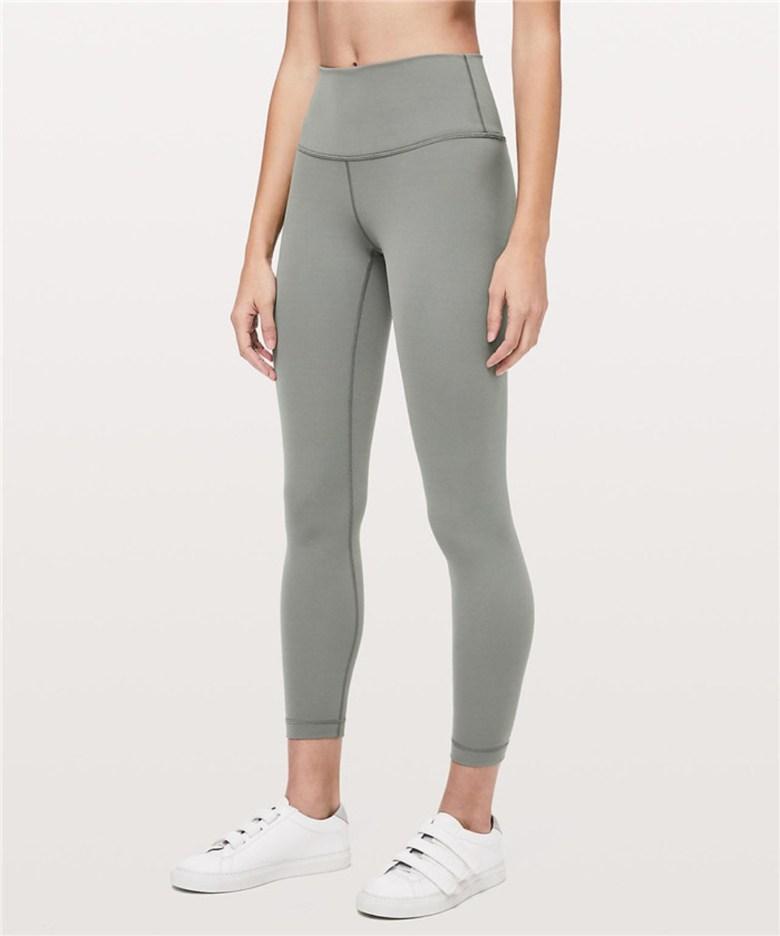 Lululemon Align Pant II 여성 피부 친화적 인 하이 웨이스트 엉덩이 스포츠 누드 피트니스 요가 바지 운동하기 좋은 몸매가 좋아보이는 운동하기 편한 Y존 프리