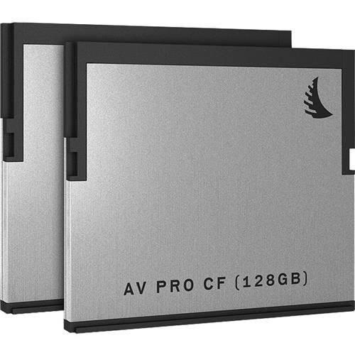 Angelbird AVP128CFX2 128GB AV Pro 2.0 Memory Card 2 Pack