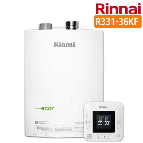 린나이 [3大특전제공]스마트 가스보일러 R331-36KF, LPG(프로판통가스)