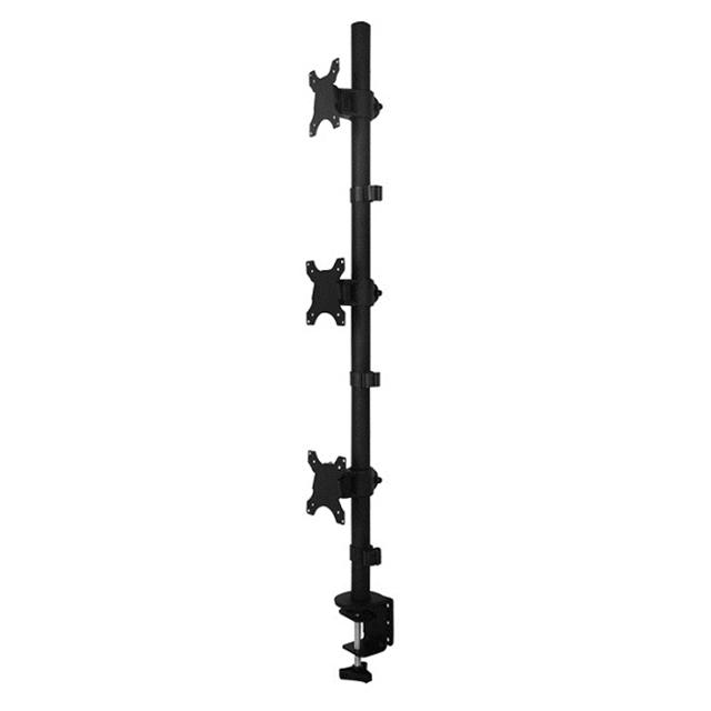 아이존아이앤디 멀티 다중 세로 가로 3대 트리플 모니터 암 거치대 10종 32인치까지, 3-7. EZ-MC3-111(세로3대)