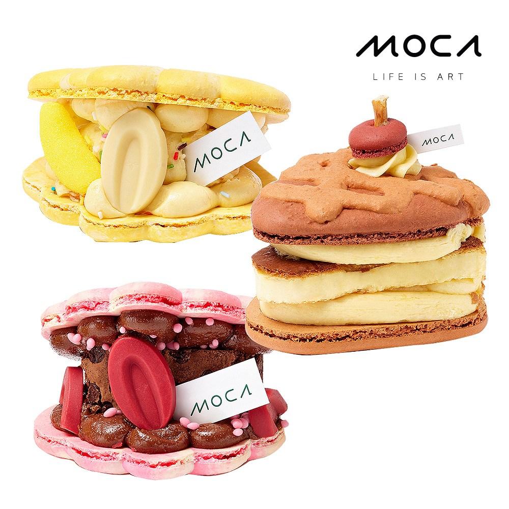 모카엔코 MOCA시그니쳐마카롱 3종세트 마카롱 디저트 케이크 빵 배달, 1개