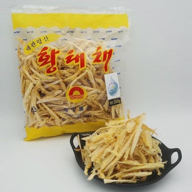 동해청정 대관령 황태채 300g, 1개