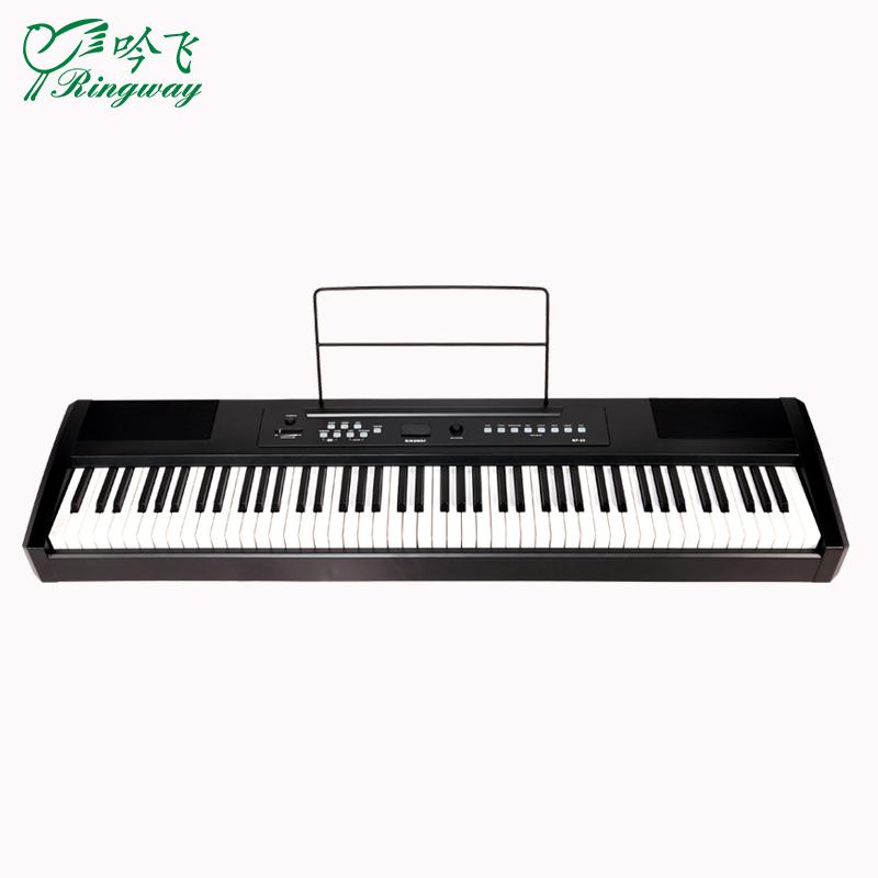 디지털피아노 휴대용 전기피아노 88건 전문 가정용 RP-25초보자 등급고시 디지털 스마트 전자 피아노, T01-RP-25건 블랙 본체