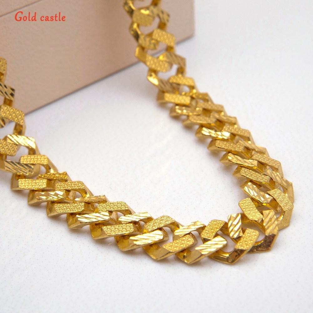[Gold castle] 순금 24k 20돈(75g) 미라클 체인 목걸이