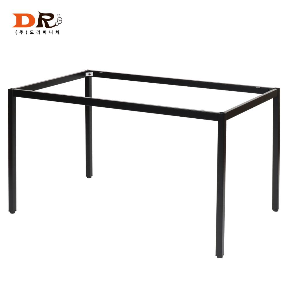 도리퍼니처 30각 블랙 1200x600 프레임 / DIY 철재다리 테이블