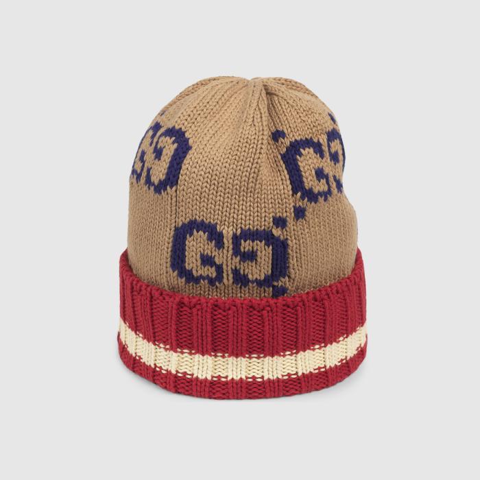 구찌 GG cotton hat 597636 4G111 9764