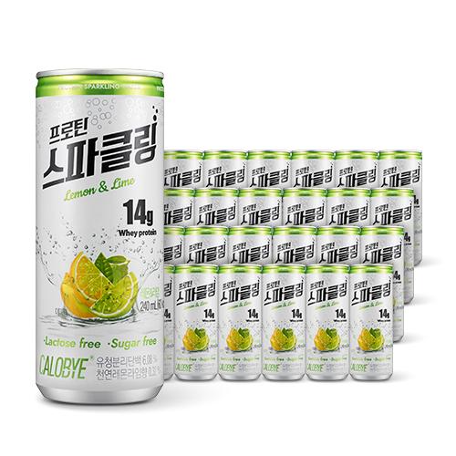 칼로바이 프로틴 스파클링 단백질 음료 분리유청 WPI 헬스보충제 24개입, 240lml