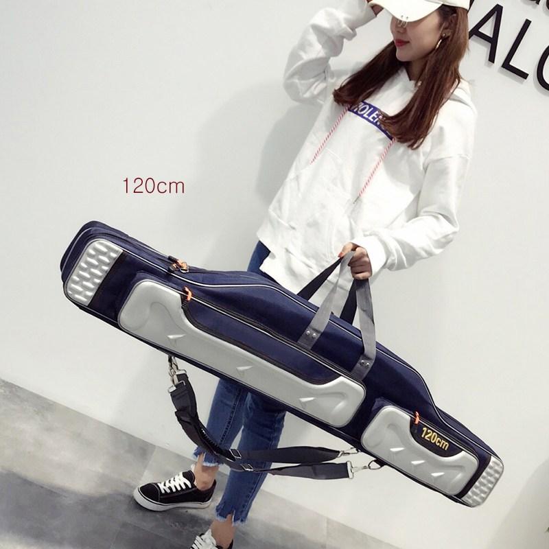 낚시가방 낚싯대가방 두꺼운 방수 낚시가방 신품 다용도 가방 XT20 A22, 16 120cm블루 4층-20-1669017287
