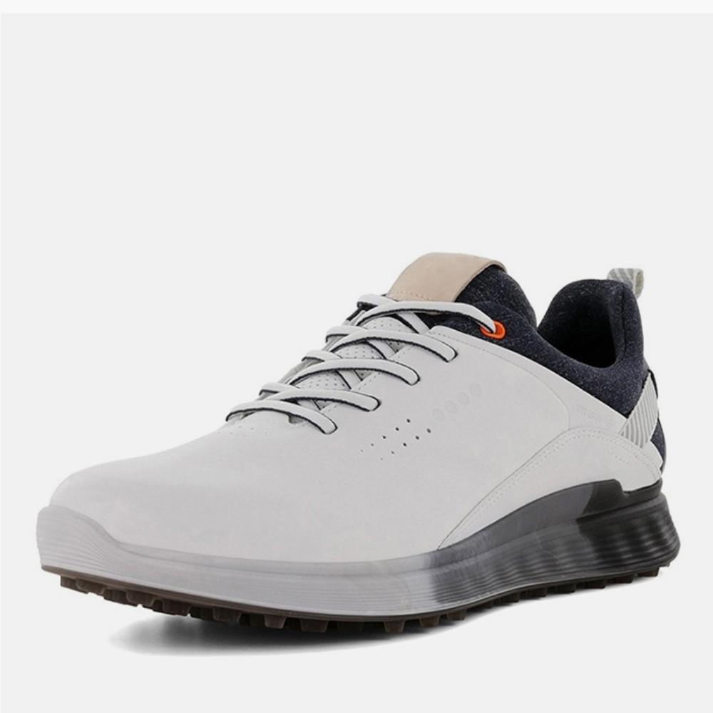 에코 ECCO 가죽 골프 미끄럼 방지 스포츠 신발