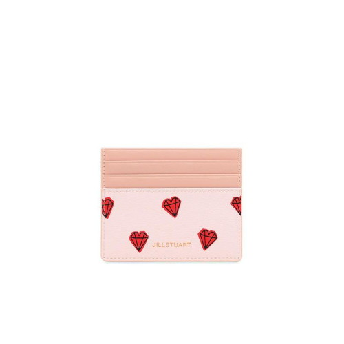 [질스튜어트 ACC]핑크 쁘띠다이아몬드 카드홀더(JAHO0E271P2)