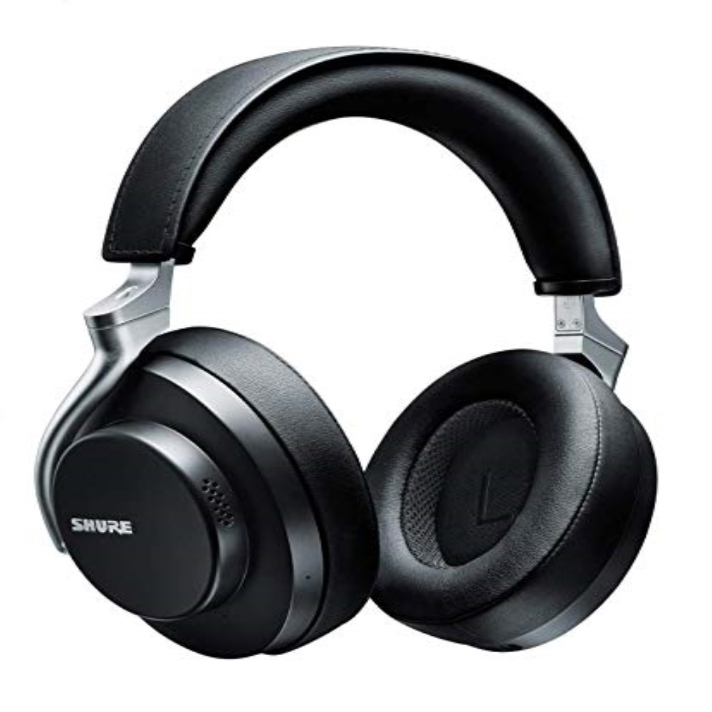 Shure AONIC 50 슈어 무선 노이즈 캔슬링 헤드폰 프리미엄 스튜디오 급 사운드 Bluetooth 5, 블랙
