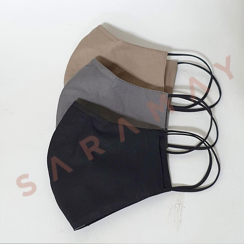 [사라메이] 필터교체형 와이어 면마스크(40수)