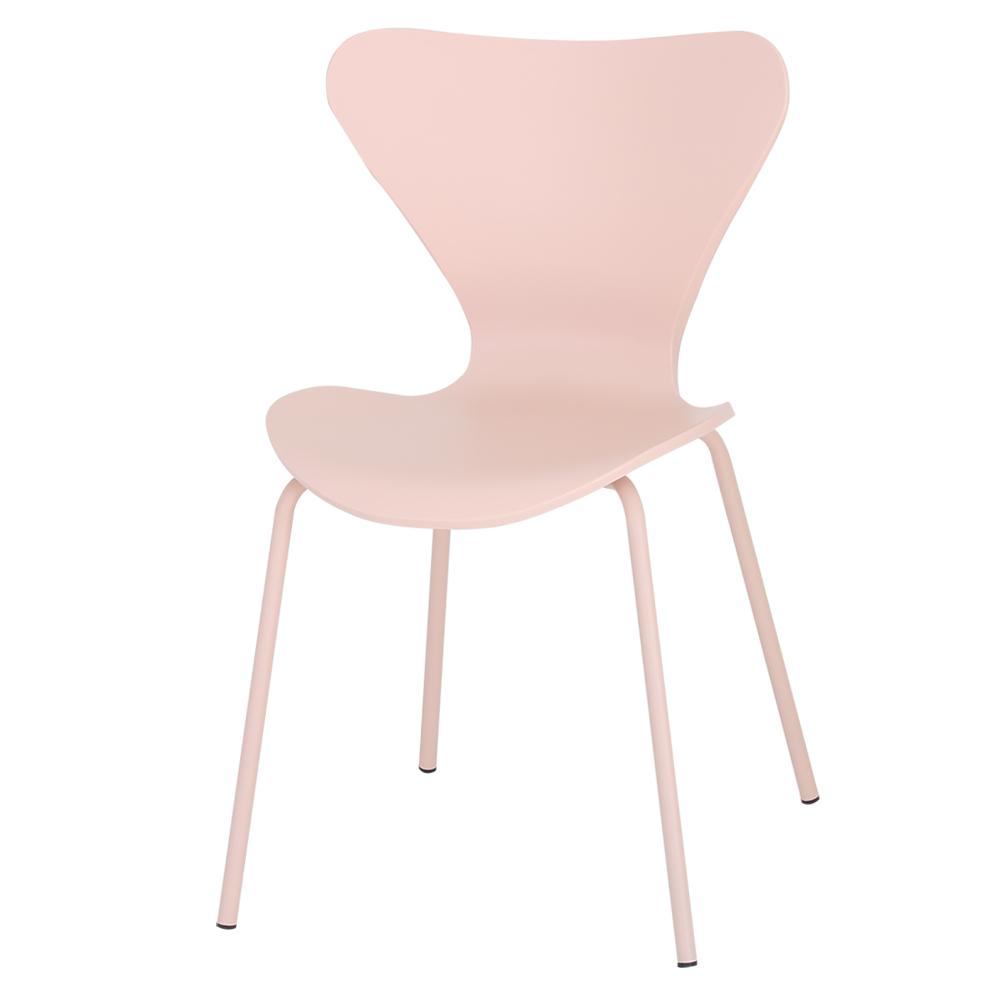 THEJOA 세븐체어 인테리어의자, 세븐체어-핑크